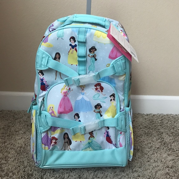 056478a63303 Pottery Barn Disney Princess Rolling Backpack